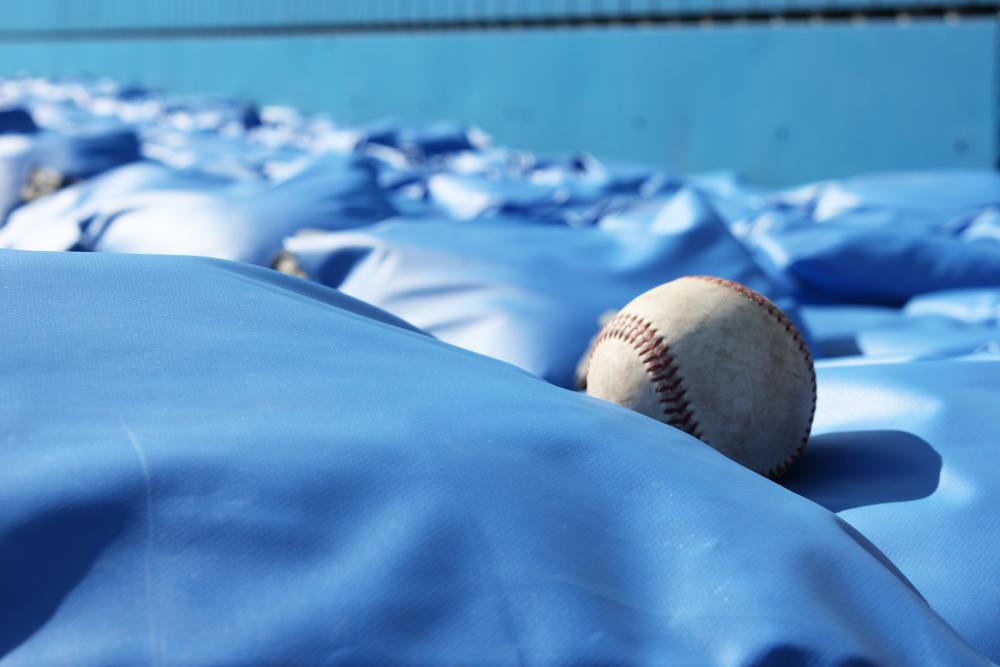 砂袋緩衝材とボール