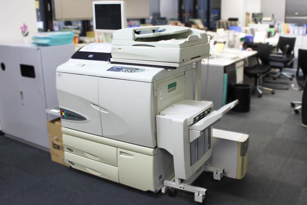 プリンター「ORPHIS HC5500」③