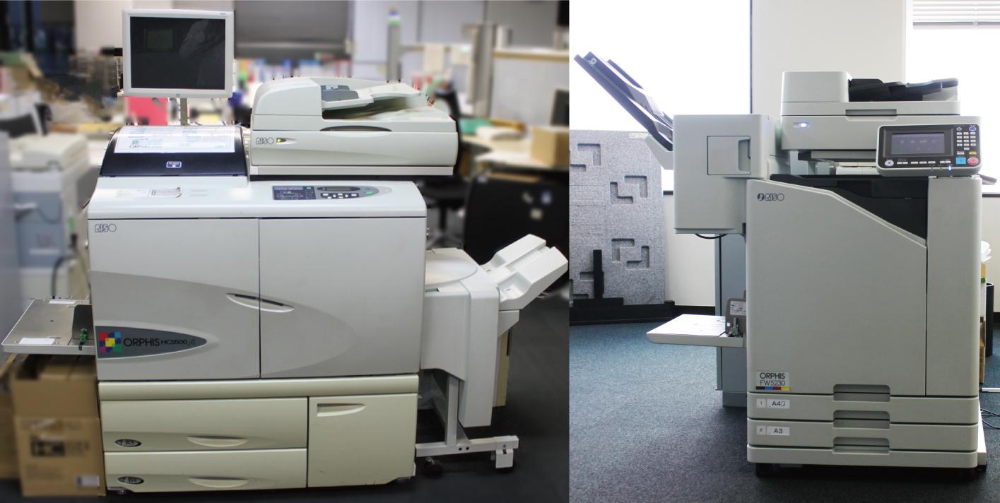 左:「ORPHIS HC5500」 右:「ORPHIS FW5230」