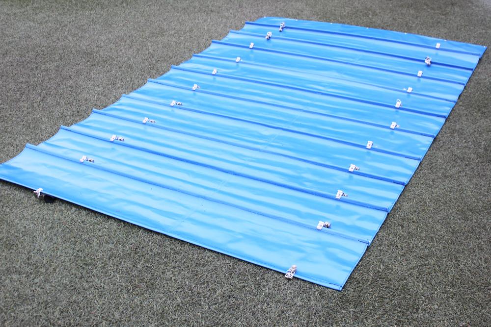 通路用雨除けテントカーテン