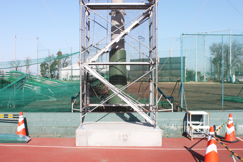 スポーツ防護マット 施工前