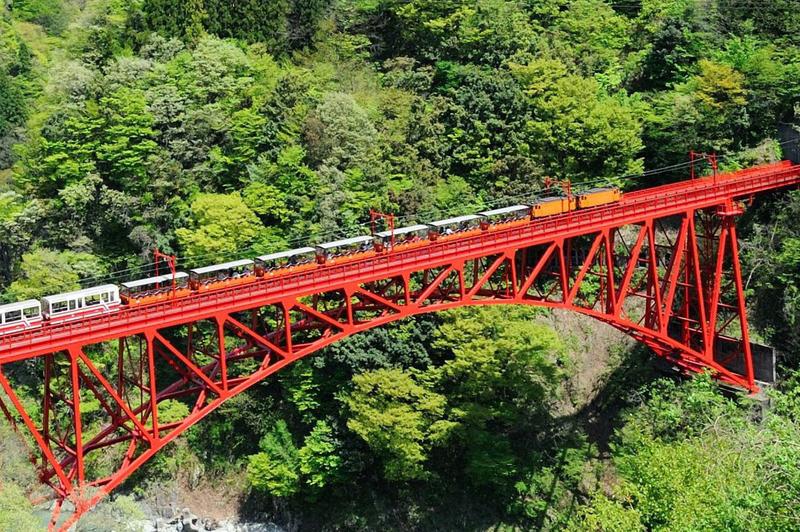 黒部峡谷鉄道①