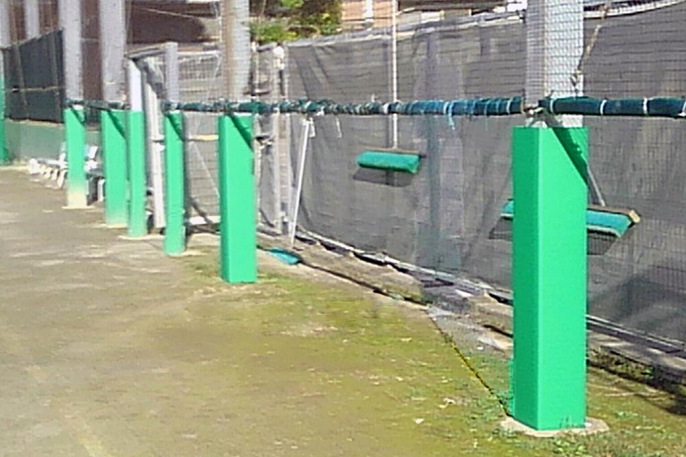 スポーツ防護マット プレパック製法による完全防水なので屋外でも長期使用が可能です