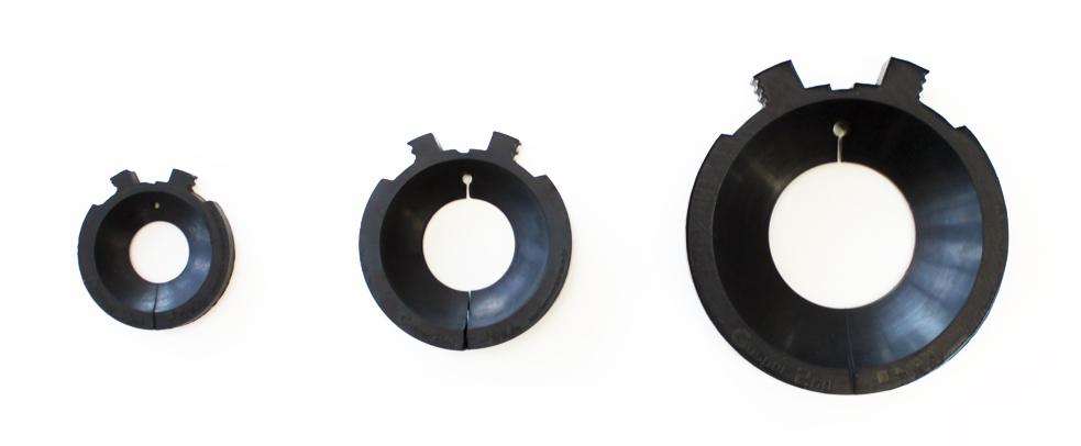 キャスパー2nd Sサイズ(左) Mサイズ(中) Lサイズ(右)