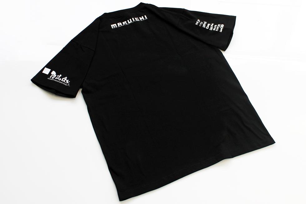 マルイチオリジナルTシャツ マルイチの各種ロゴが印刷されています