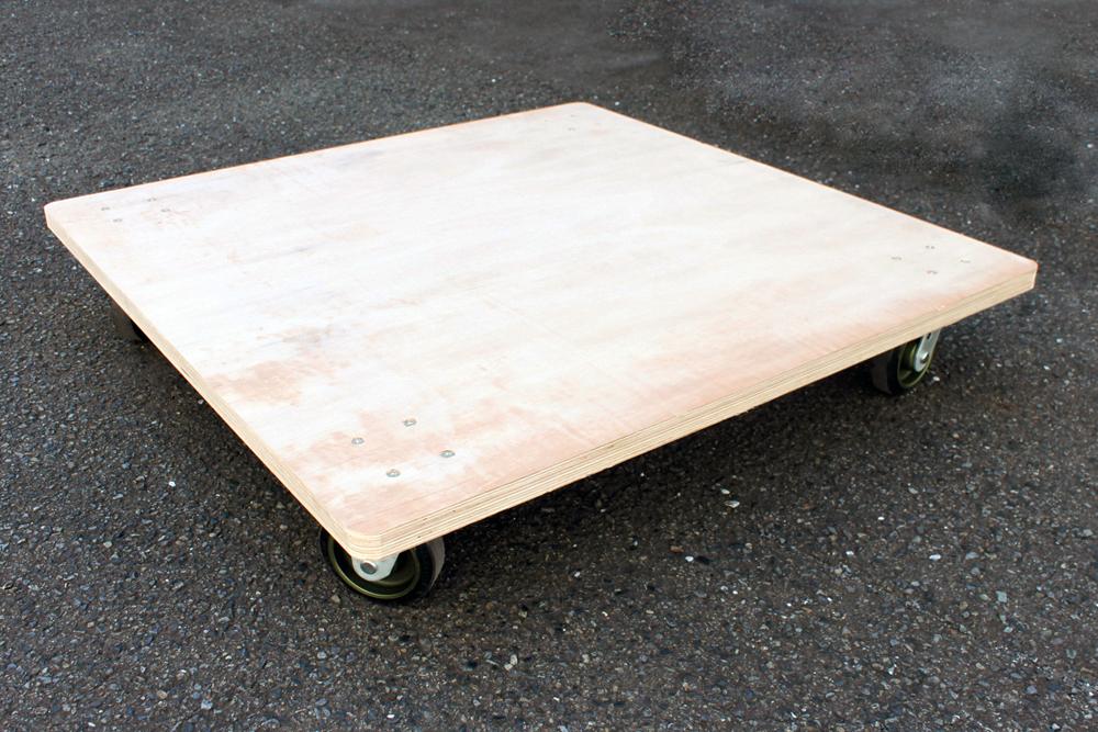 特注木製台車サイズ 1200×1200mm