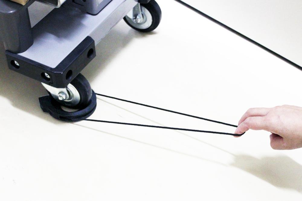 キャスパー3rd Mサイズ試作品:オープンリング方式による簡単脱着