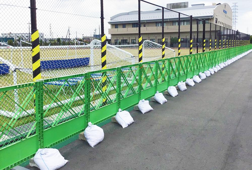 サッカー場 施工一例